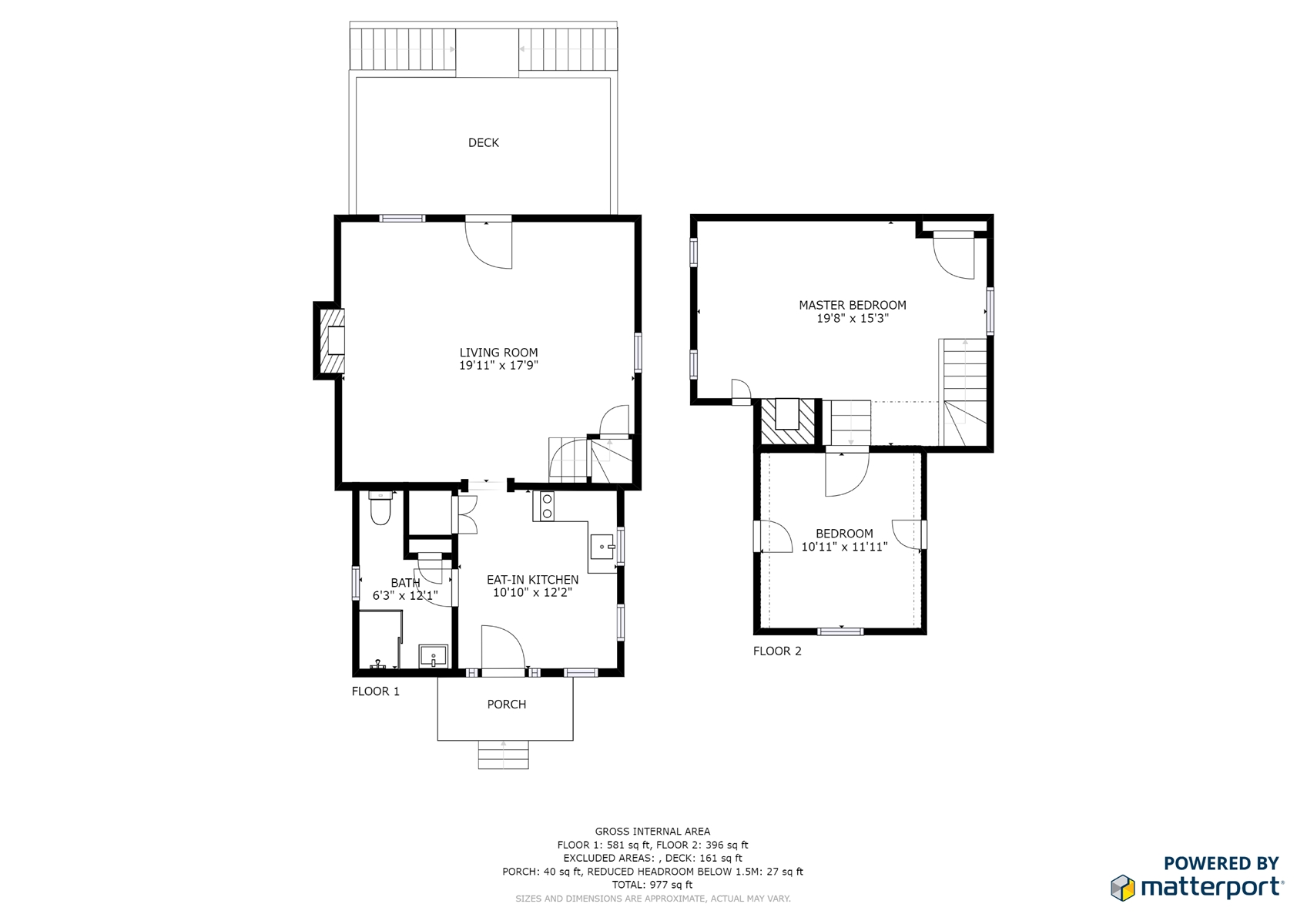 Floor Plan for  Emily's Cabin | Beautifully Restored 1827 Cabin on 85 acres | Lake Access